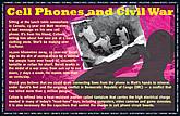 Cell Phones & Civil War