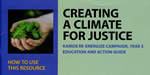 Creating a Climate for Justice