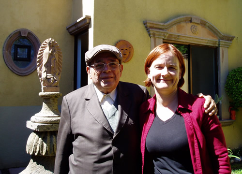 Bishop Ruiz with Emilie Smith