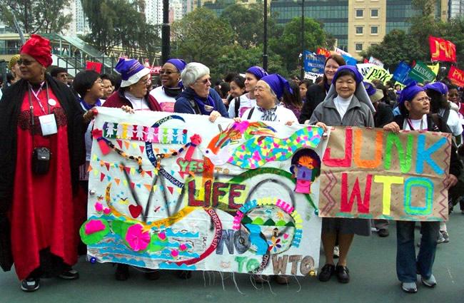 WTO protest hong Kong