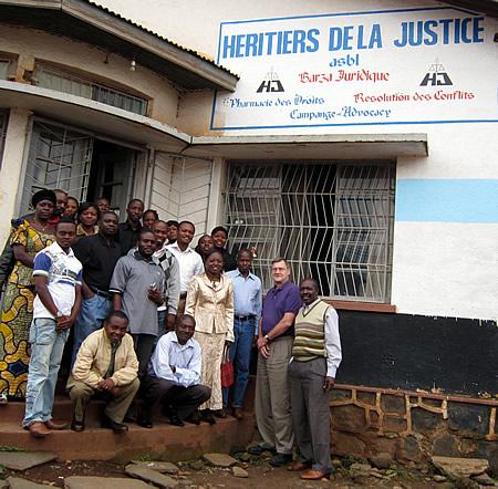 DR Congo - Jim Davis + Heritiers de la Justice