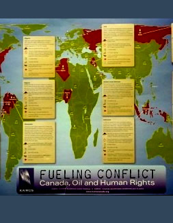 cover - Fueling Conflict Map