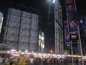Manila-billboards and tricycle terminal