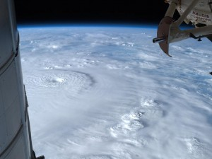 Super-typhoon Pablo/ Bopha from orbit.
