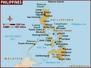 may december relationship philippines map