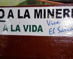 """No to mining, yes to life! Viva El Salvador!"" (Photo: United Church of Canada)"