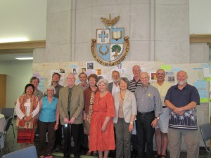 Our ecumenical partners and elders, May 2013.
