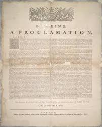 Proclamation pic