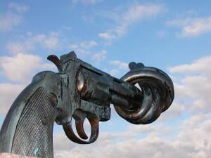 Bent pistol