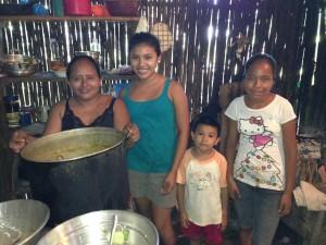 family in El Estor