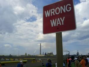 Gateway Wrong Way