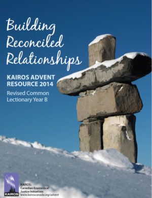 cover - Building Reconciled Relationships - Advent 2014