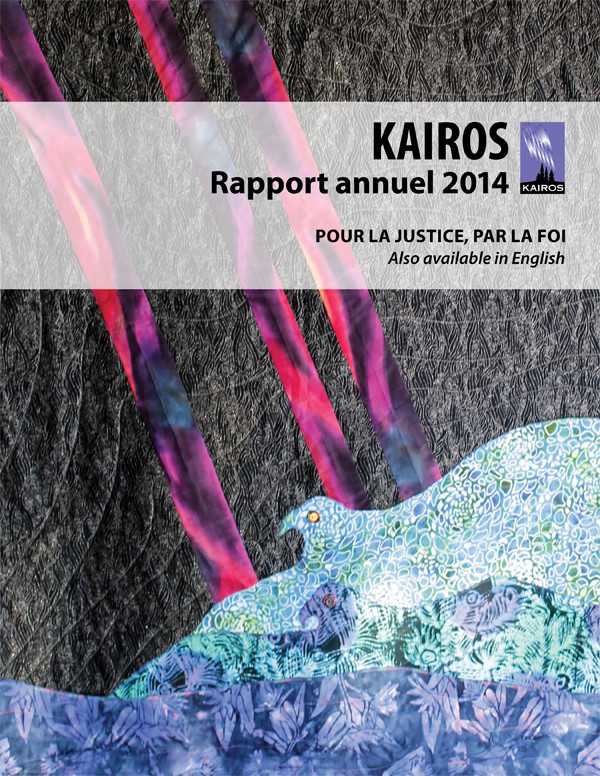 cover - Rapport Annuel 2014