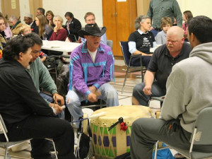 Shimmering Waters Drumming Circle