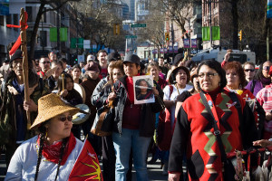 Women's Memorial March for MMIWG, 2010
