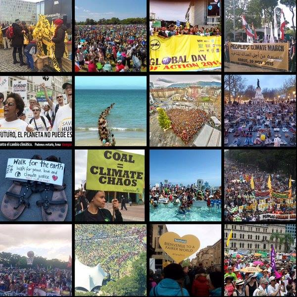 Global Climate March on November 29, 2015