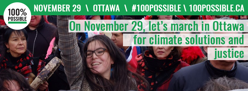 Climate March for Justice November 29