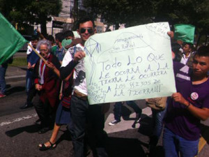 Climate March in Guatemala