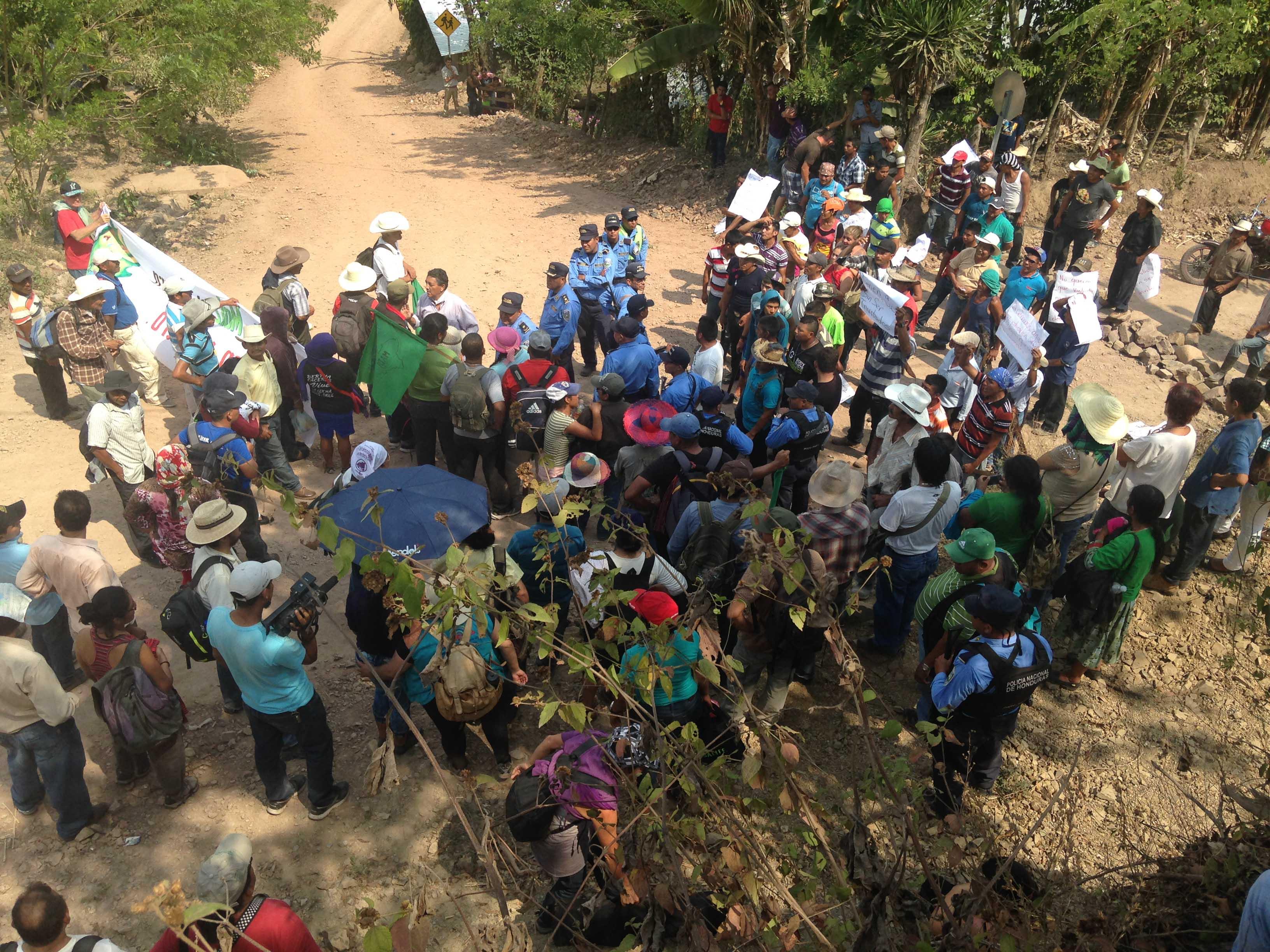 March in Honduras