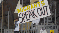 migrants speak