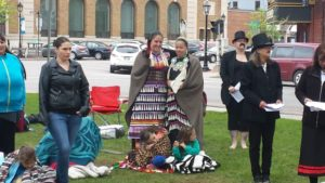 Mass Blanket Exercise in Charlottetown, May 28 2016