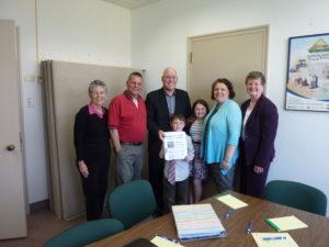 April 29 Mtg with MPP Steve Clark (centre) arranged by Donna Greenhorn