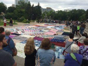 Winnipeg Mass Blanket Exercise