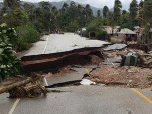 hurricane matthew in Haiti 2016