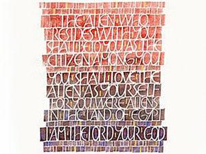 Leviticus 19:33-34