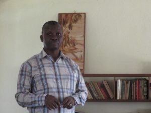 Gerard, Executive Secretary for Héritiers de la justice in DRC