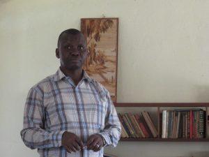 Gerard, Executive Secretary for Héritiers de la justice in DRC