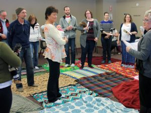 Blanket exercise opening eyes and minds