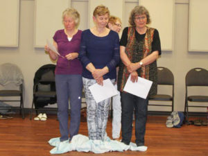 KAIROS Blanket Exercise at St. Paul's Anglican Church in Southampton, on June 21, 2017.