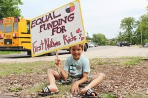 Equal funding for first nations kids