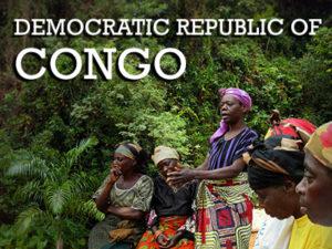 WPS partner in the DRC