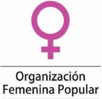 Organizacion Femenina Popular logo