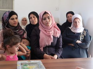 Women's group in Sureef (near Hebron)