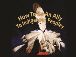 Painting by Josephine M. Cook for the Two Row Wampum Renewal Campaign.