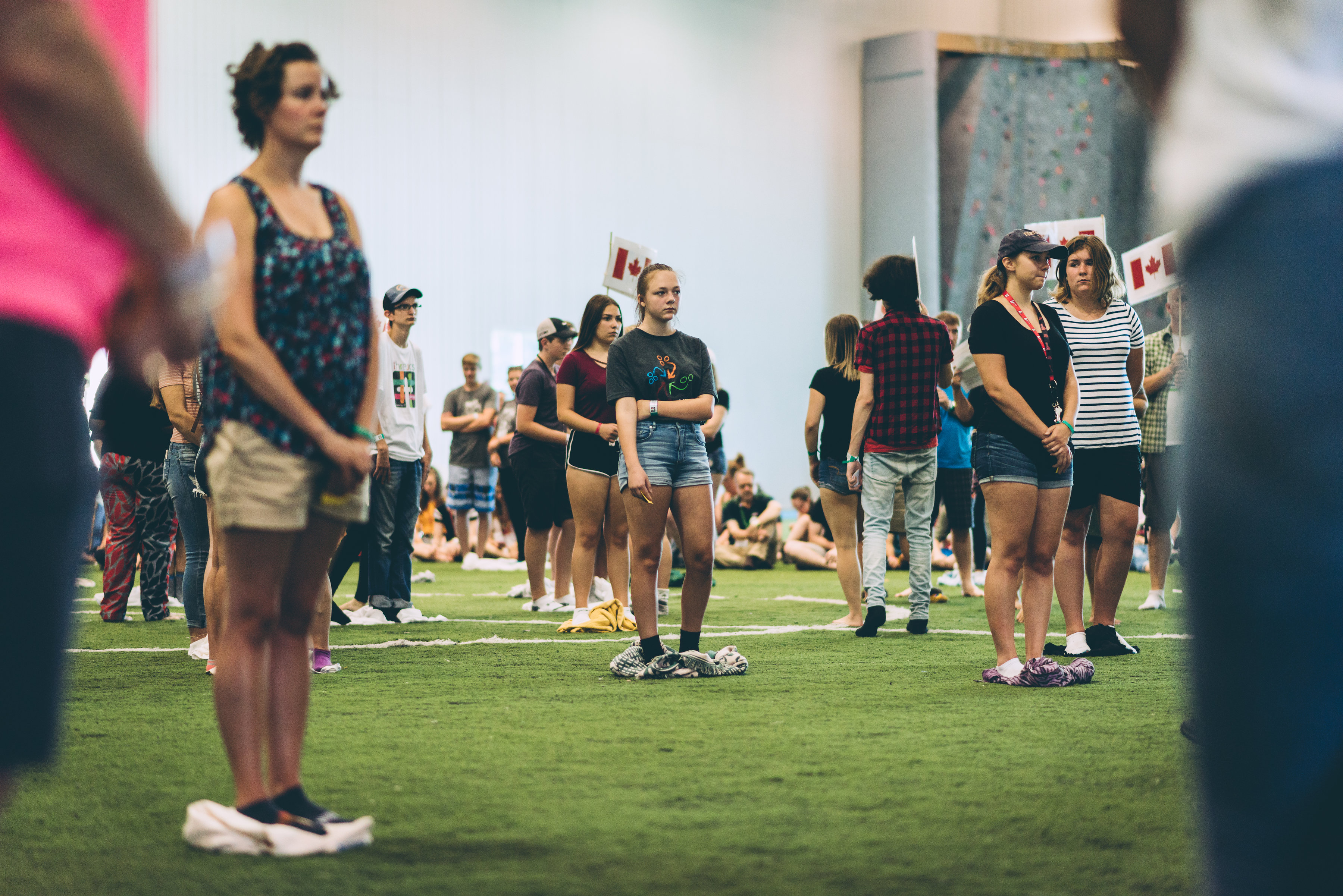 800 students learn about Indigenous history through the KAIROS Blanket Exercise, in Thunder Bay