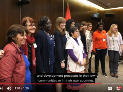 Women of Courage: Women, Peace & Security
