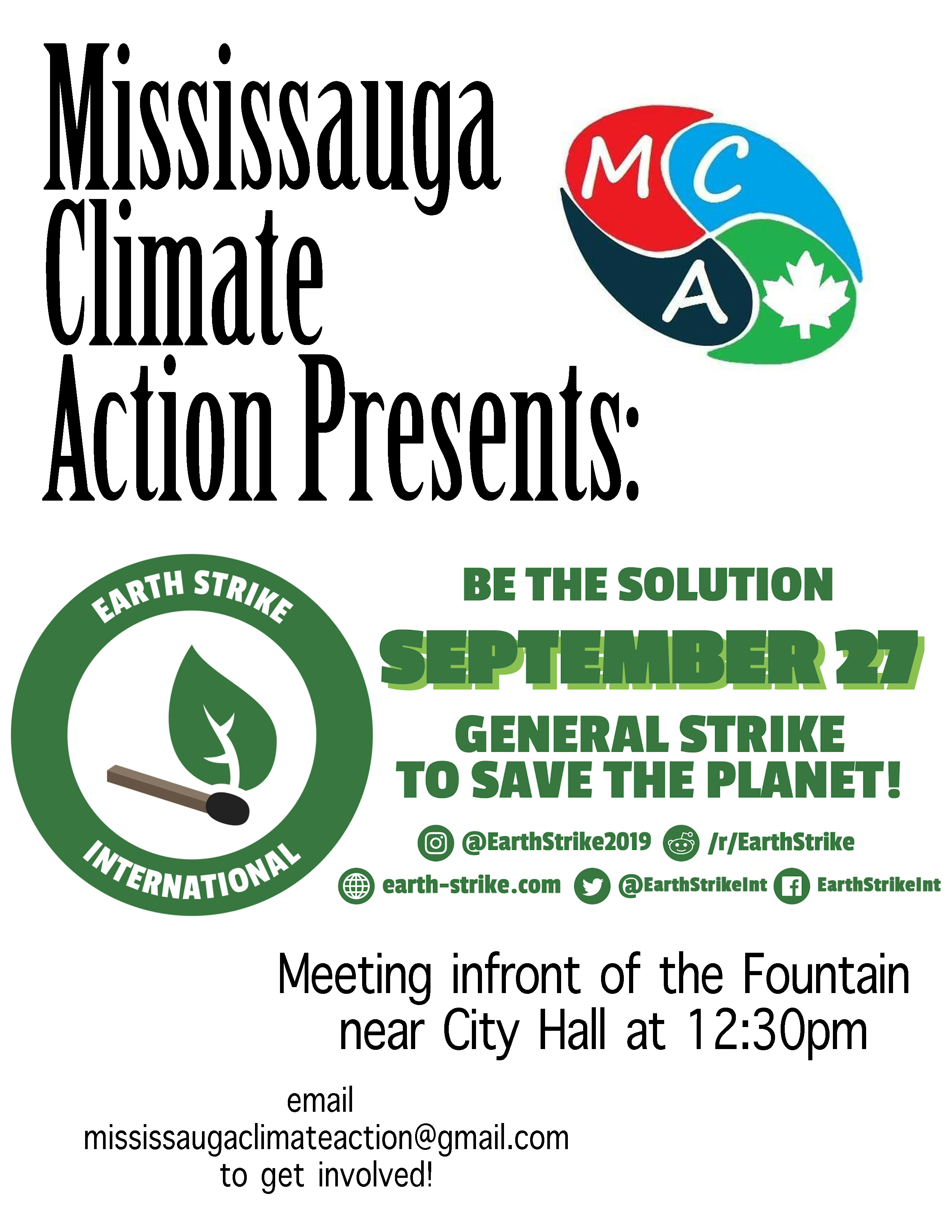 Poster - Climate Action Strike