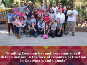 Online Teach-in on Community Self-determination in the Face of Resource Extraction in Guatemala and Canada