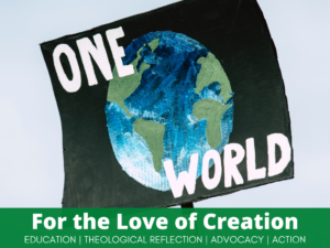 For the love of creation campaign