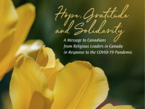 A Message to Canadians from Religious Leaders in Canada in Response to the COVID-19 Pandemic