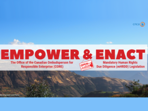 CNCA campaign for mining justice