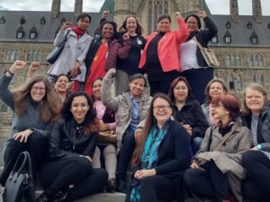 Women Land Defenders on the Hill