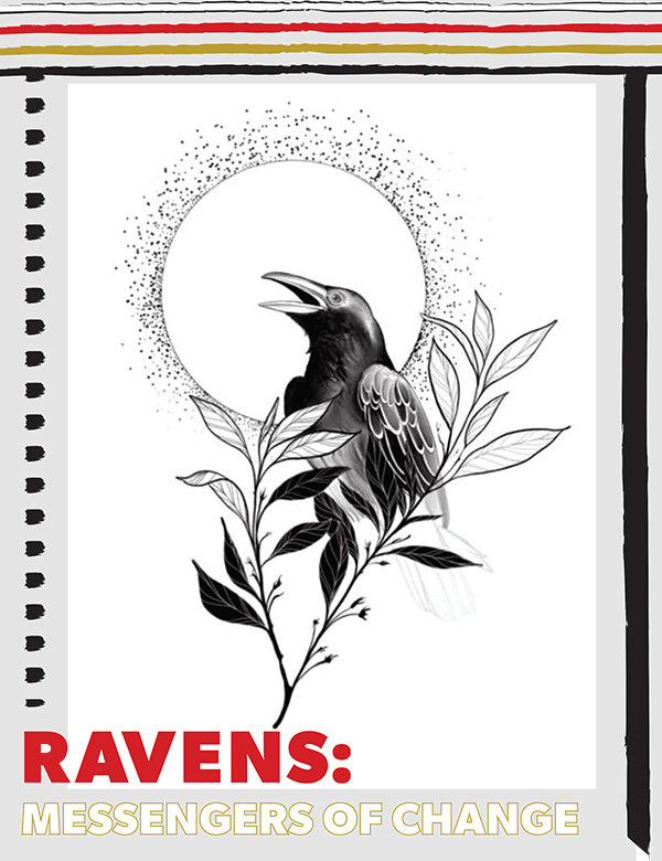 Ravens: Messengers of Change Activity cover