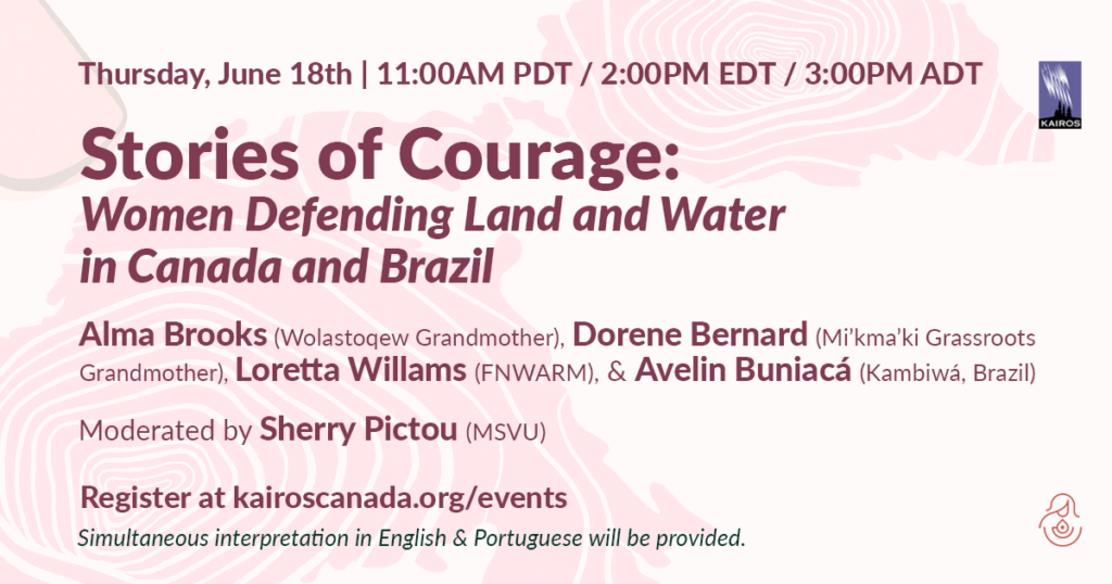 Stories of Courage: Women Land and Water Defenders