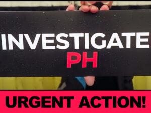investigate PH urgent action