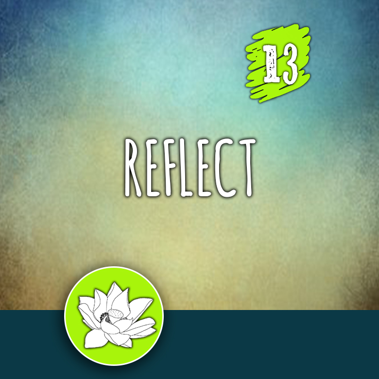 ACTION 13: Reflect